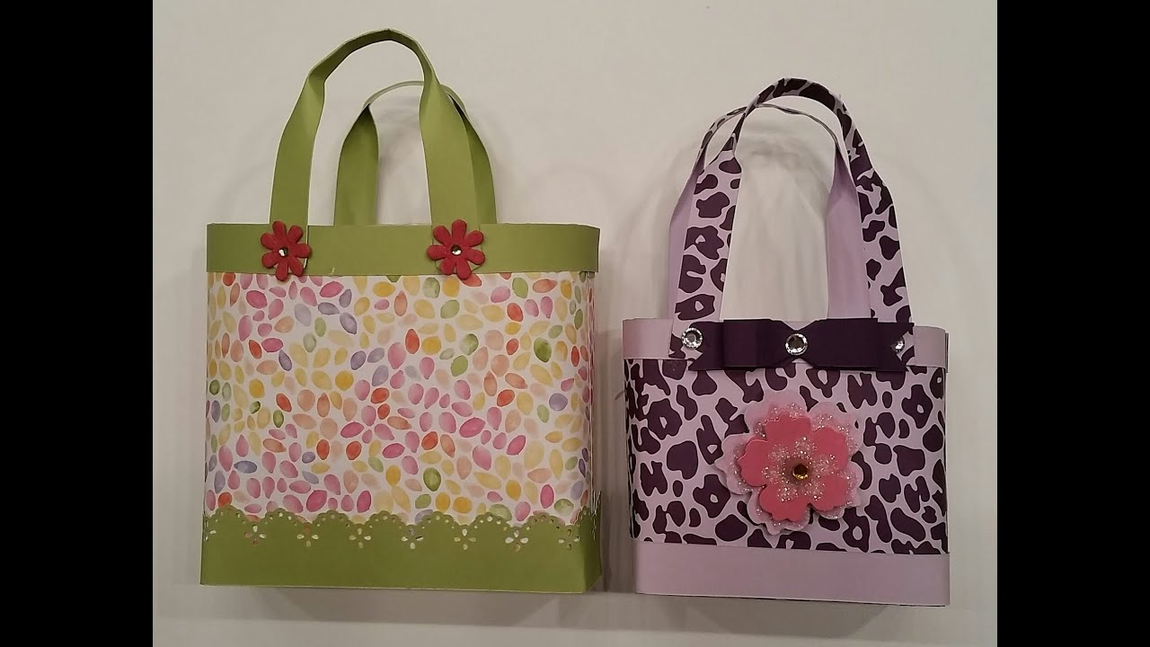 Gift Bag Purse In 2 sizes + Gift Card Wallet - One Sheet ...
