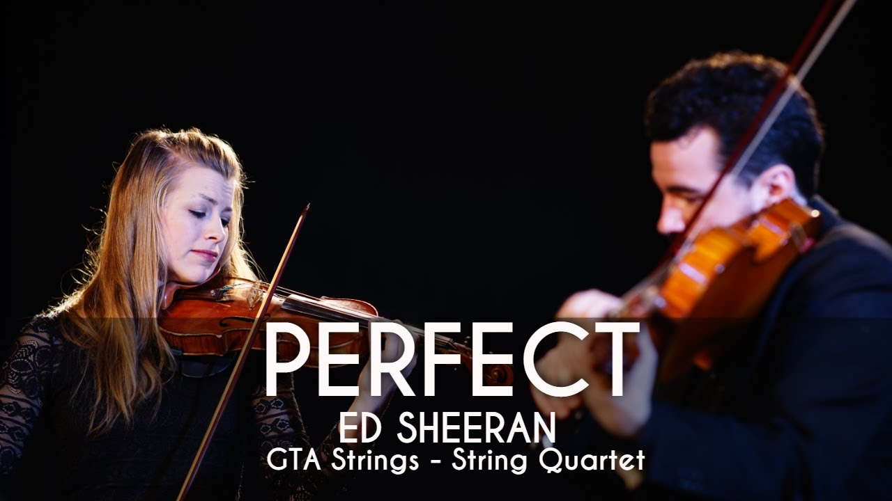 Perfect - String Quartet COVER - Ed Sheeran