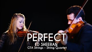 Perfect - String Quartet COVER - Ed Sheeran