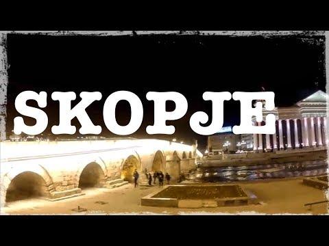 Skopje Macedonia Travel Film