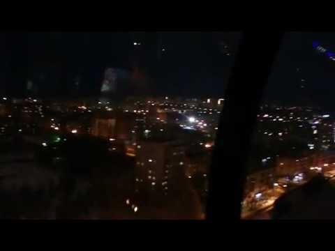 Кировчане делятся первыми фото и видео с нового колеса обозрения
