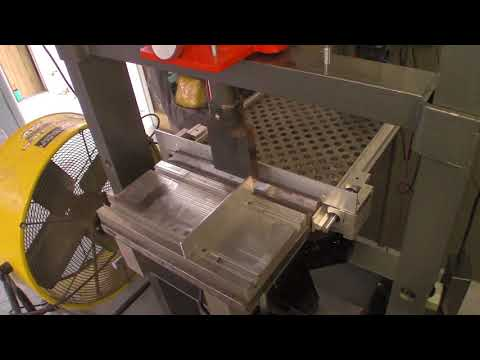 20 Ton DIY Press Brake with CNC controlled back gauge