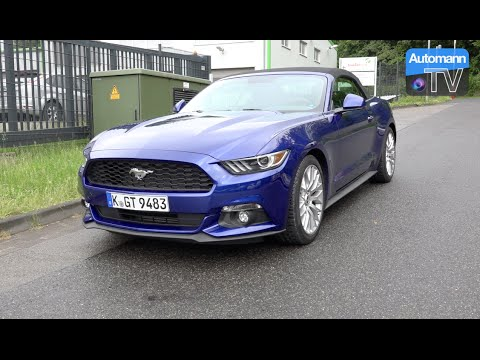 2016 ford mustang ecoboost 317hp drive sound 60fps youtube rh youtube com