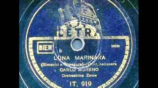 Carlo Moreno - Luna Marinara (con testo).wmv