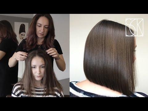 BOB HAIRCUT - tutorial by SANJA KARASMAN