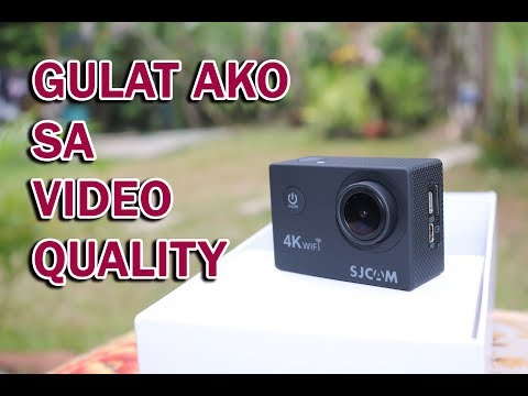 SJCAM SJ4000 AIR UNBOXING + VIDEO TEST 2018 (Philippines)