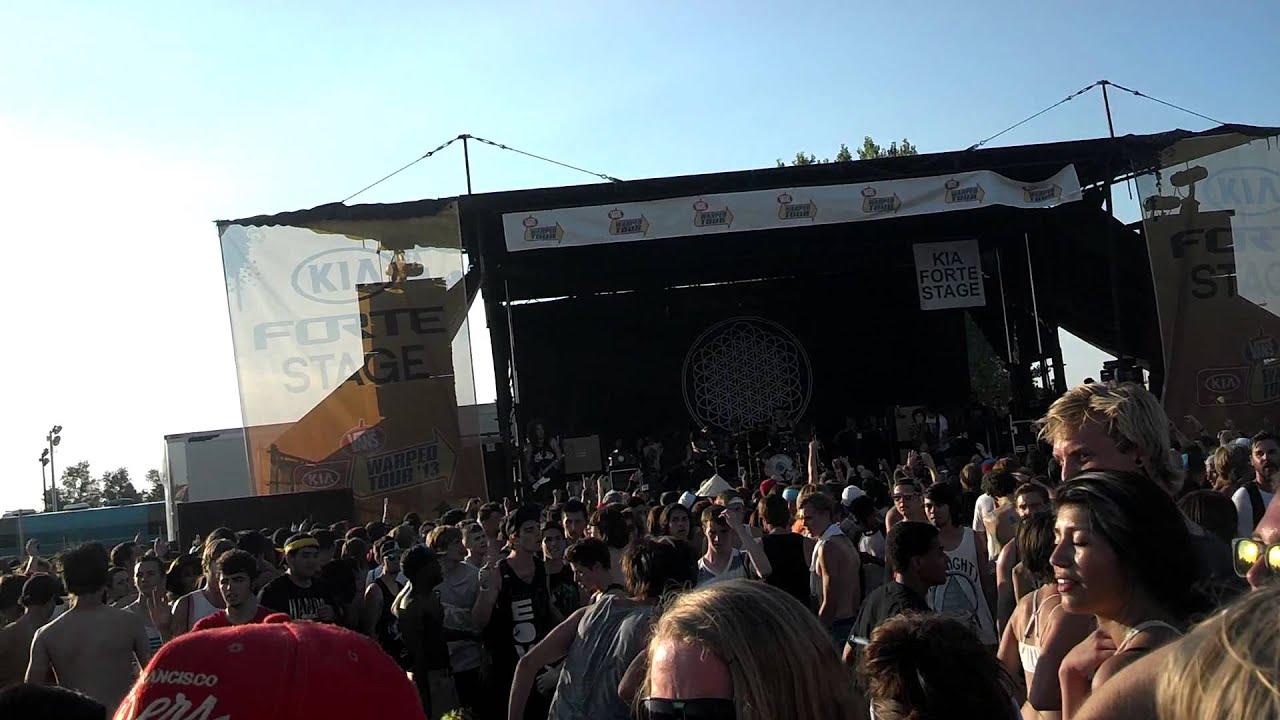 Bring me the Horizon circle pit (Warped Tour Salt Lake ...