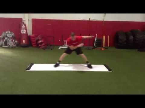 7 Exercises Using The Slide Board