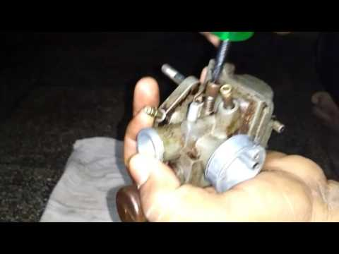 how to clean carburettor part 2