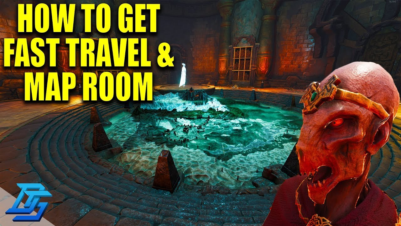 How To Unlock Fast Traveling Amp Map Room In Conan Exiles