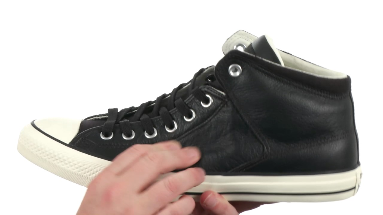 170cf51c3c305f Converse Chuck Taylor All Star Street Hi - Tumbled Leather SKU 8910654