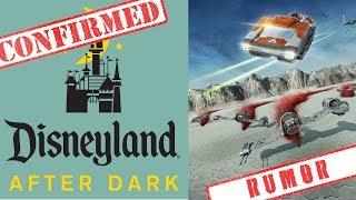 NEW Disneyland after dark events + Star Tours rumor | Disney news 11-15-17
