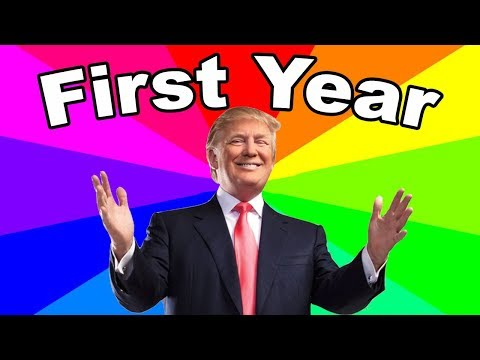 Download Youtube: Donald Trump's First Year As President  - The Good, The Bad And The MEMES