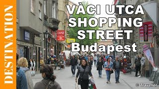 Budapest walking street - A walk on on Váci utca shopping & restaurant street - Budapest attractions(, 2014-11-30T18:40:45.000Z)