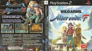 Gambar cover Wild Arms Alter Code F (PS2) - Unboxing, Manual, Full Case, Box Art, Disc