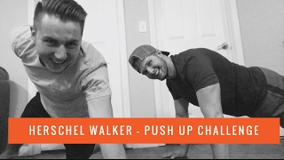 Herschel Walker - Push Up Challenge