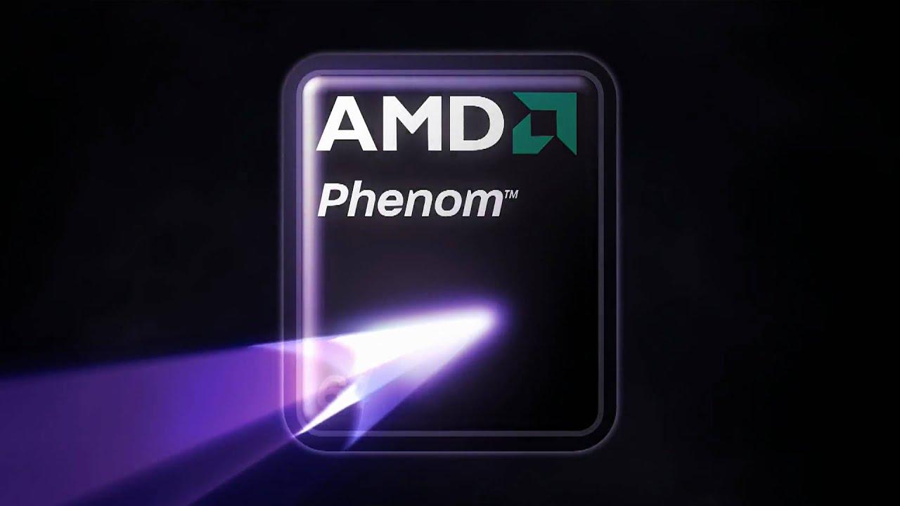 amd phenom logo animation youtube