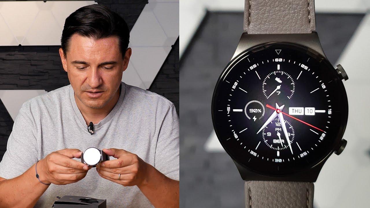 Cel mai bun Smartwatch Huawei - GT2 Pro - Prim Contact