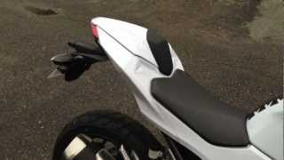 2013 Kawasaki Ninja 300 Rear Seat Cowling
