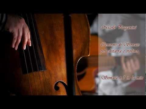 Nicolò Paganini - Sonata n.1 in la min (dal Centone di Sonate per chitarra e violino)