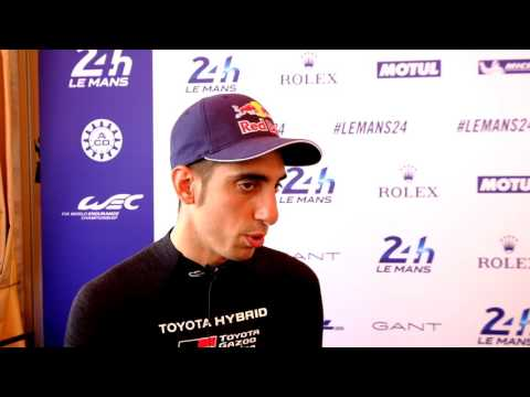 WEC - 2017 24 Hours of Le Mans - Sebastien Buemi Interview