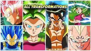 All Transformation Animations May 2020 DBZ Dokkan Battle