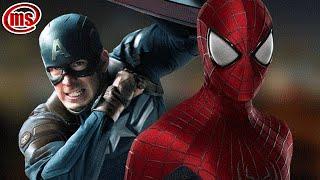 Человек Паук и Капитан Америка  Гражданская война