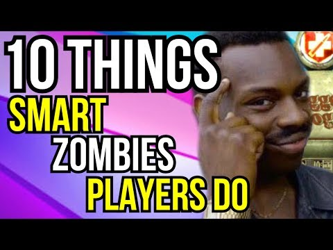 10 Things Smart Zombies Players Do!