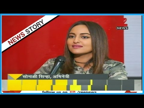 DNA: Actress Sonakshi Sinha turns journalist to interview Sudhir Chaudhary