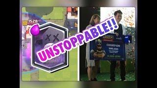 1100 champion s graveyard deck live 12 wins grand challenge   clash royale