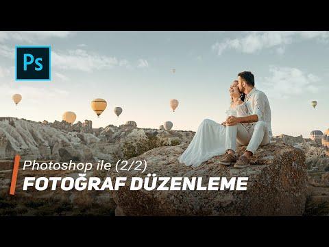 Photoshop Ile Fotoğraf Düzenleme (2/2) - 4K