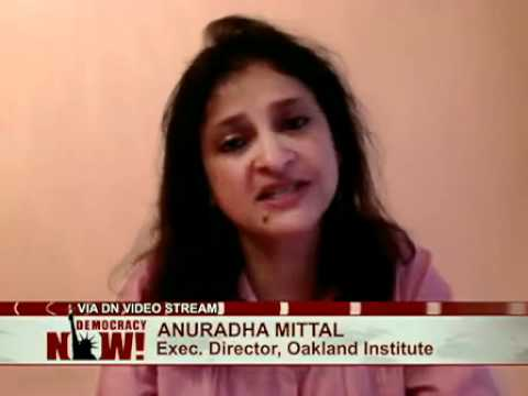 Anuradha Mittal of Oakland Institute on Understanding Land Investment Deals in Africa Report
