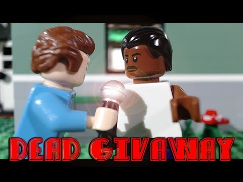 Lego Dead Giveaway starring Charles Ramsay (Lego stop-motion animation/brickfilm) comedy film