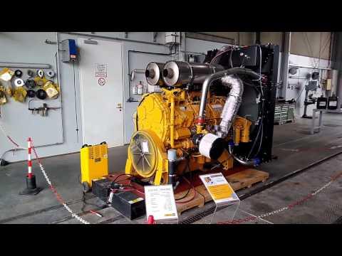 CAT Caterpillar C27 engine - cold start up