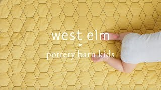 Introducing: west elm x Pottery Barn Kids!