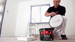 Malowanie ścian i sufitów.  Porady Tikkurila