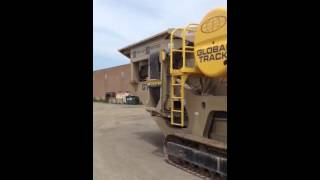 kpi gt125 track mounted jaw crusher