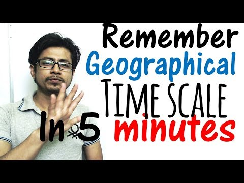 Geological time scale chart made easy with tricks | memorize geographical time scale in 5 minutes