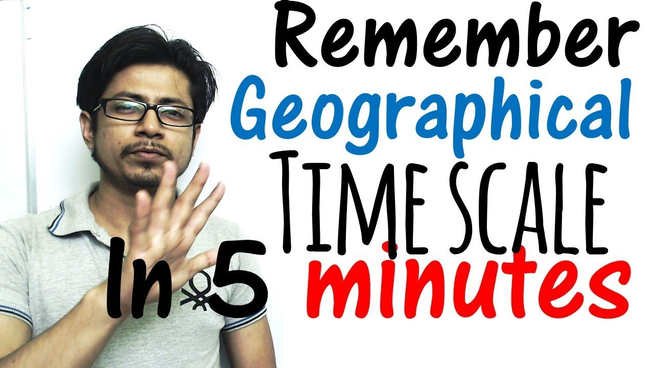 Geological Time Scale Chart Made Easy With Tricks Memorize
