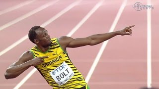 Usain Bolt beats Gatlin in 100m Champs - Universal Sports