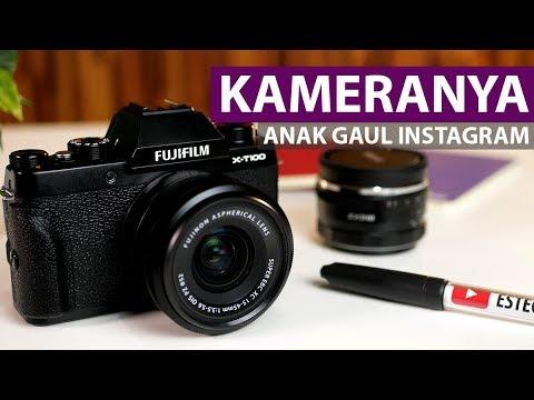 Kamera Mirrorless Untuk Anak Hits Instagram | Review Fujifilm X-T100 Indonesia