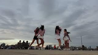 [걸크러쉬TV] 여성 댄스팀 비글여친 - 'BAAM' K-POP COVER Dance, 여의도 버스킹 - TEST