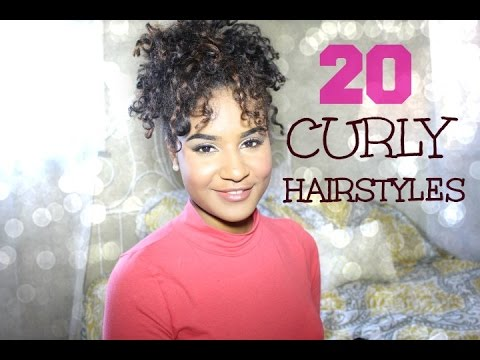 Sexy hairstyles for curly hair