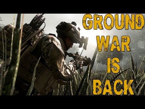 GROUND WAR IS BACK! (Call of Duty: Ghosts PS4 Gameplay)