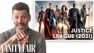 Zack Snyder Breaks Down His Career, from 'Watchmen' to 'Justice League' | Vanity Fair Thumb