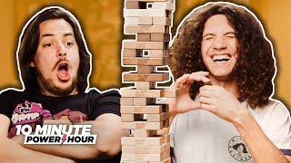 Better ingredients, better Jenga. Game Grumps. Click to SUBSCRIBE ▻ http://bit.ly/GrumpSubscribe MERCH!! ▻ http://gamegrumps.com/merch ...