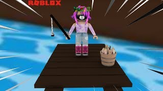 ROBLOX: I TURNED a PESCADORA! (Fishing Simulator! 🐟)