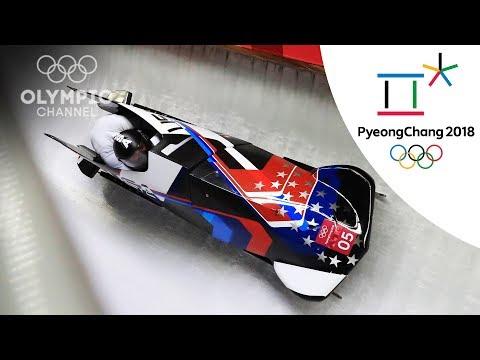 Elena Myers Taylor and Lauren Gibbs\'s Bobsleigh Highlights | PyeongChang 2018