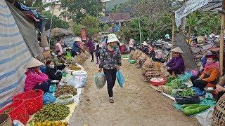 ลุยเวียดนาม(Vietnam)EP17:ตลาดเช้าเมืองแถง เว่าจากับพี่น้องไตดำ ของกินหลากหลาย