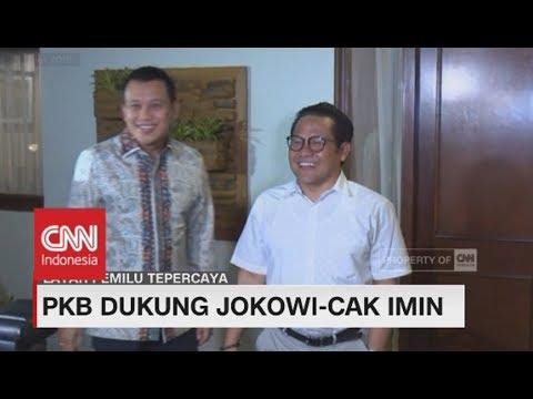 PKB Tegaskan Dukung Jokowi - Cak Imin